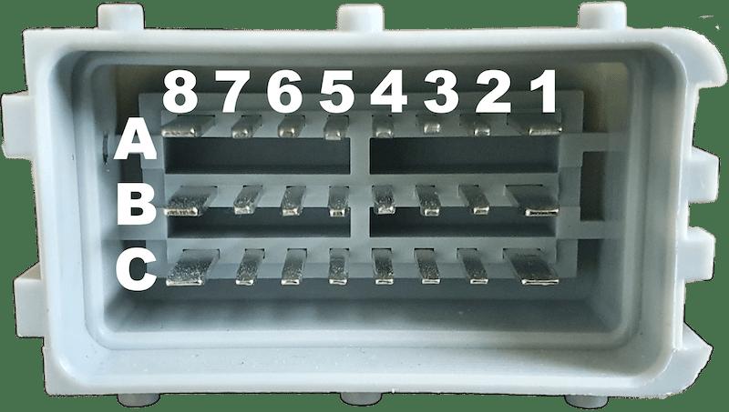 Delphi SICMA Grey Connector