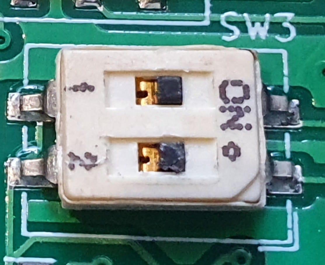 Dropbear crank filter switch