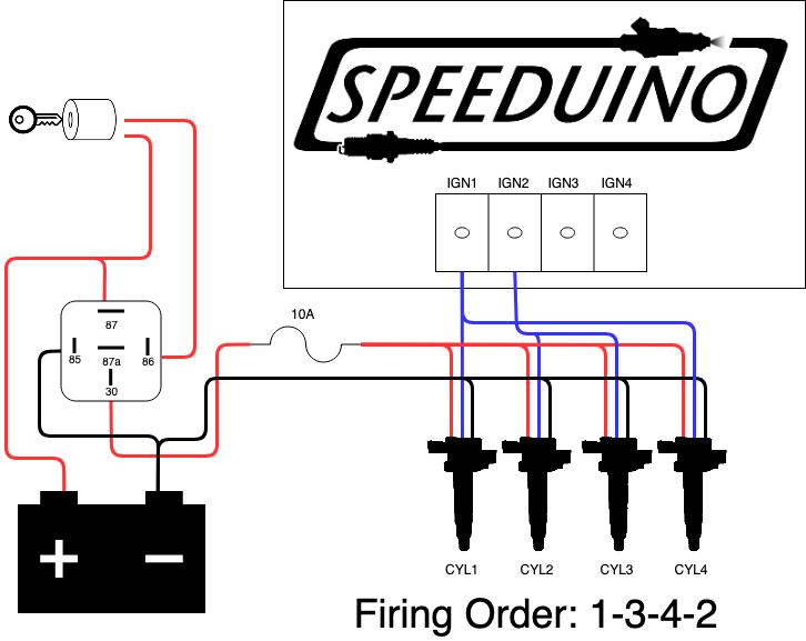 Ignition Wiring | Speeduino Manual | Spark Ignition Wiring Diagram |  | Speeduino wiki